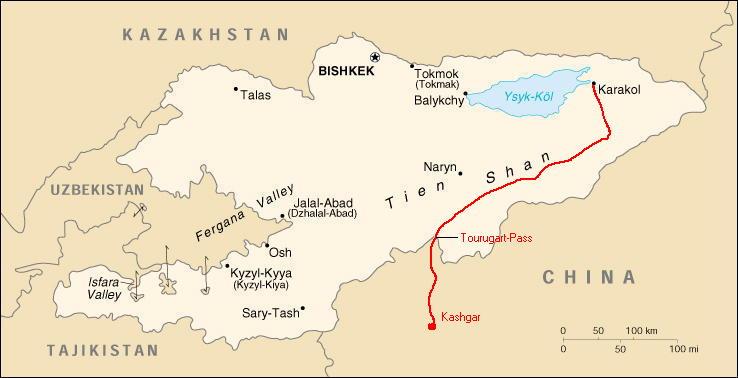 Trekking im Thien Shan